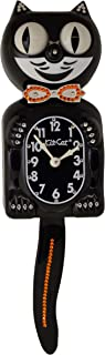 "product image for Limited Edition Orange/Citrine Klock Swarovski Crystals Jeweled Clock 15.5"""
