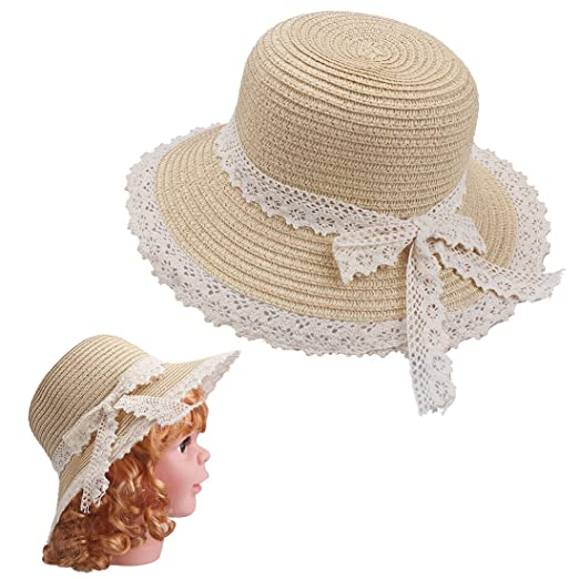 Victorian Kids Costumes & Shoes- Girls, Boys, Baby, Toddler Kids Sun Hats $10.19 AT vintagedancer.com