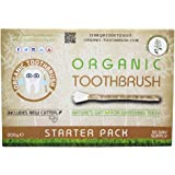 Organic Toothbrush The - Ramadan Miswak Sticks - Eid - Fast Natural Teeth Whitening Kit - Salvadora Persica Tree Root - Eco-Friendly