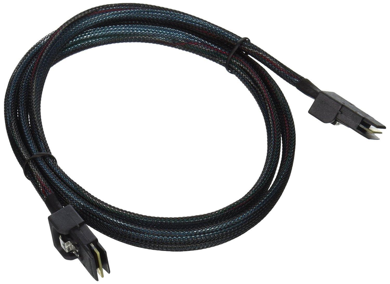 Cablestore 1m 30AWG Internal Mini SAS 36-Pin SFF-8087 Male to Mini SAS 36-Pin SFF-8087 Male Cable - Black