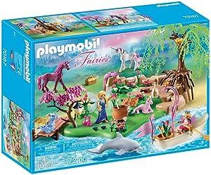 Playmobil - 70167 - Fairies Island Set with Unicorns and More