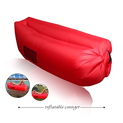 XYH Inflatable Lounger Couch,Portable Blow Up Lounge Chair