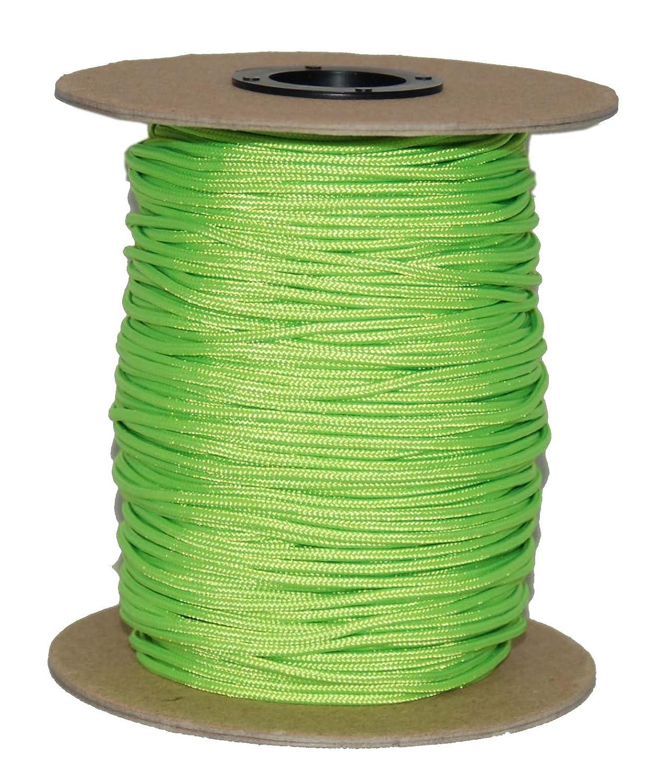 Evans Cordage Co. 300-Feet T.W Evans Cordage 70-101NG Crosslace Lacrosse String Spool Neon Green T.W