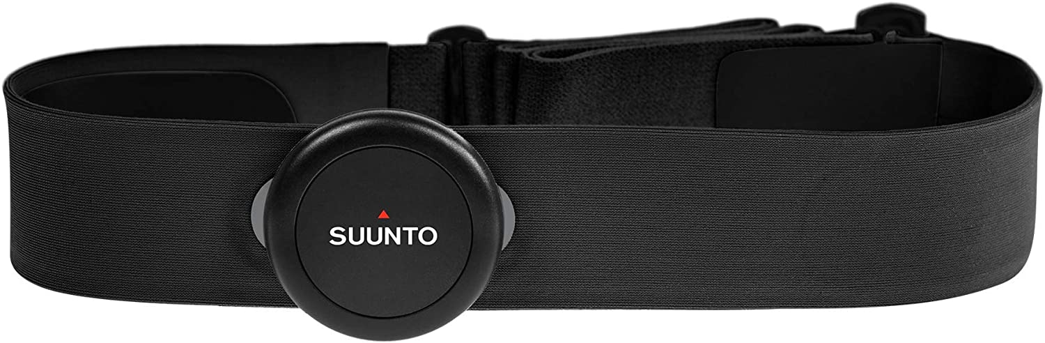 SUUNTO Smart Heart Rate Sensor Belt - Bluetooth, Waterproof Chest Strap HR Sensor, New Version, Black