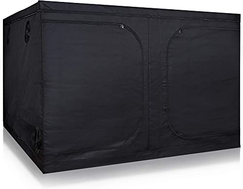 Hydro Plus Grow Tent Room Indoor Plants Growing Reflective Mylar Dark Room Non Toxic Hut for Growing System 96 x96 x78 Tent