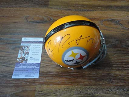 972af99cf Eli Rogers Autographed Signed Pittsburgh Steelers Throwback Mini Helmet  Memorabilia - JSA Authentic