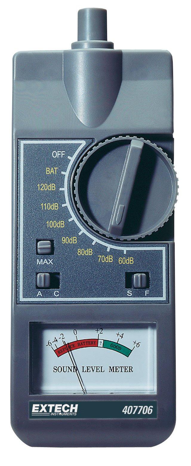 Extech 407706 Analog Sound Level Meter