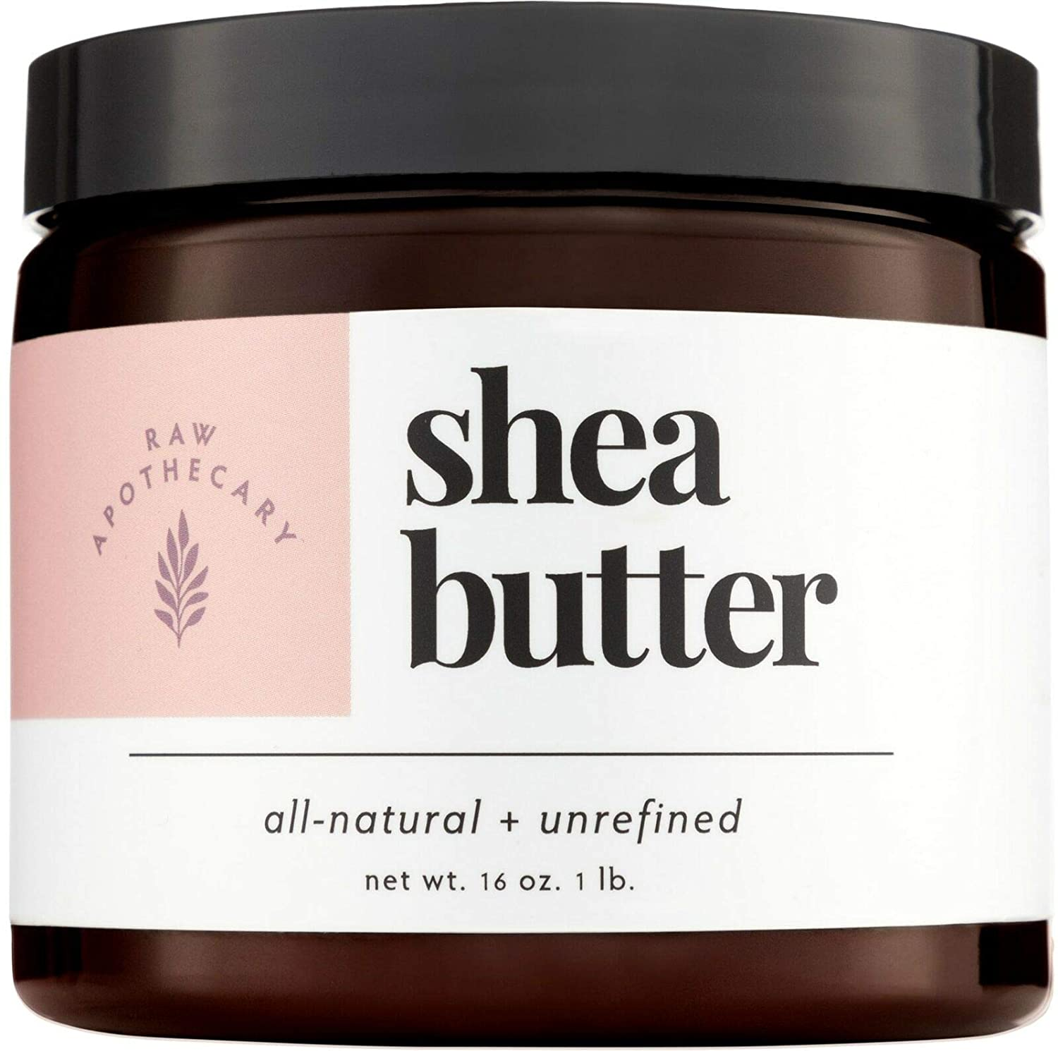 Raw Apothecary All-Natural Ivory Shea Butter (16 ounces)