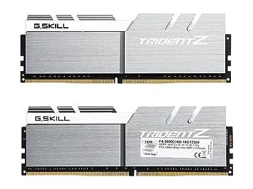 PC memory - G  Skill Trident Z 16GB DDR4 3600 MHz: Amazon co