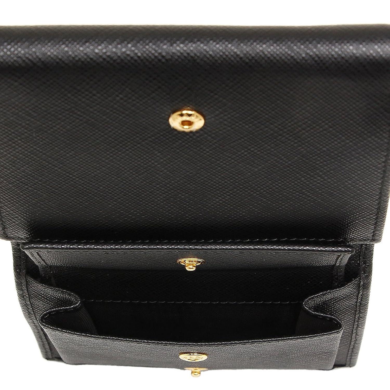 d97286db0b41 Amazon   [プラダ] 折財布 レディース PRADA 1MH176 QHH 002 ブラック [並行輸入品]   PRADA(プラダ)   財布