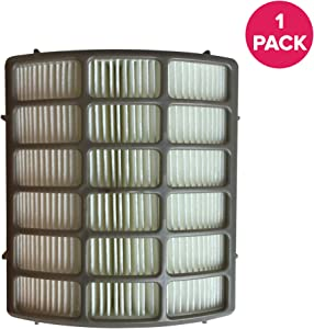 Crucial Vacuum Replacement Vacuum Filter - Compatible with Shark Part # XHF80, NV-80 - Fits Shark Navigator Vacuum Models NV70, NV71, NV80, NV90, NV95, NVC80C, UV420 - Bulk (1 Pack)
