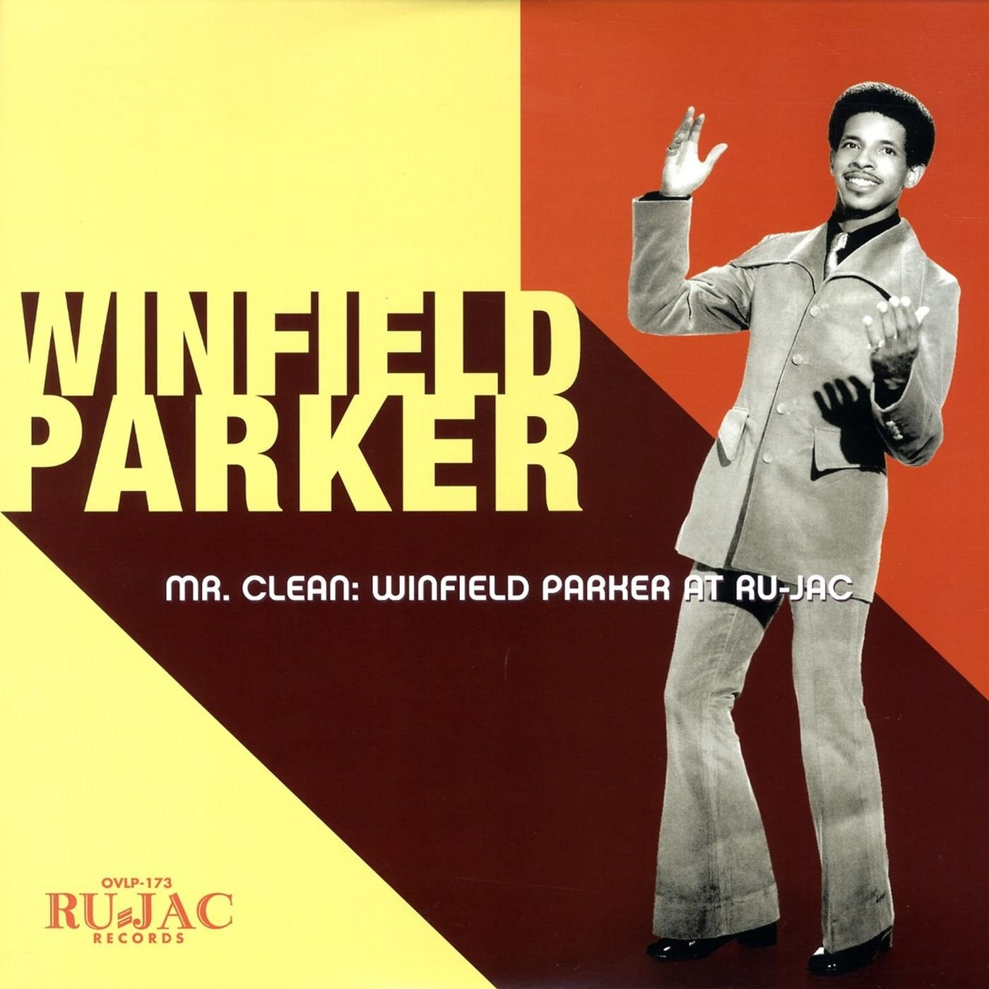 Vinilo : Winfield Parker - Mr. Clean: Winfield Parker At Ru-jac (Colored Vinyl, Yellow, Digital Download Card)