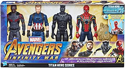 "Marvel Avengers Infinity War Titan Hero Series Iron Spider 12/"" Action Figure"