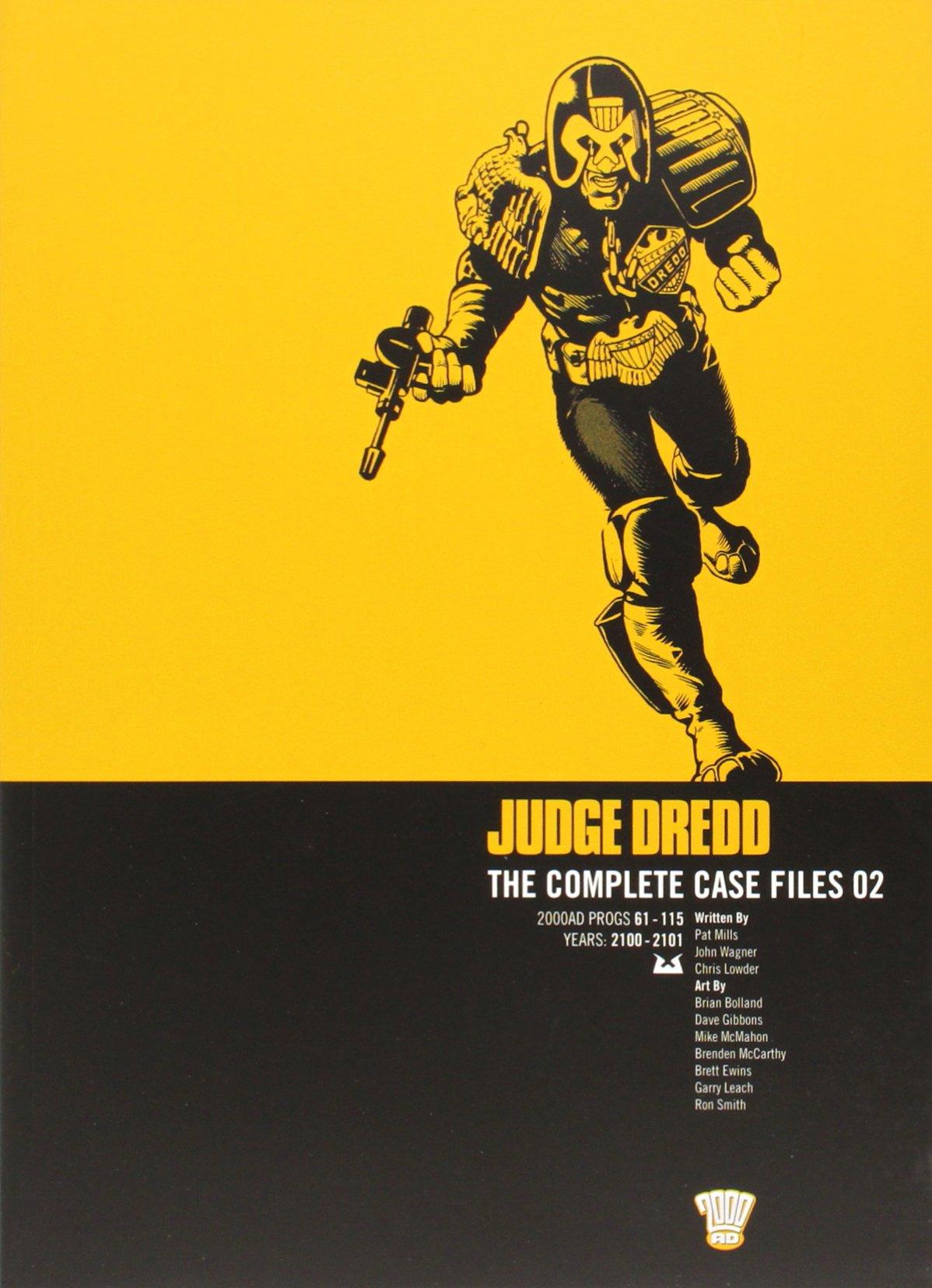 Judge Dredd: The Complete Case Files, Vol. 2- 2000 AD Progs 61-115 pdf