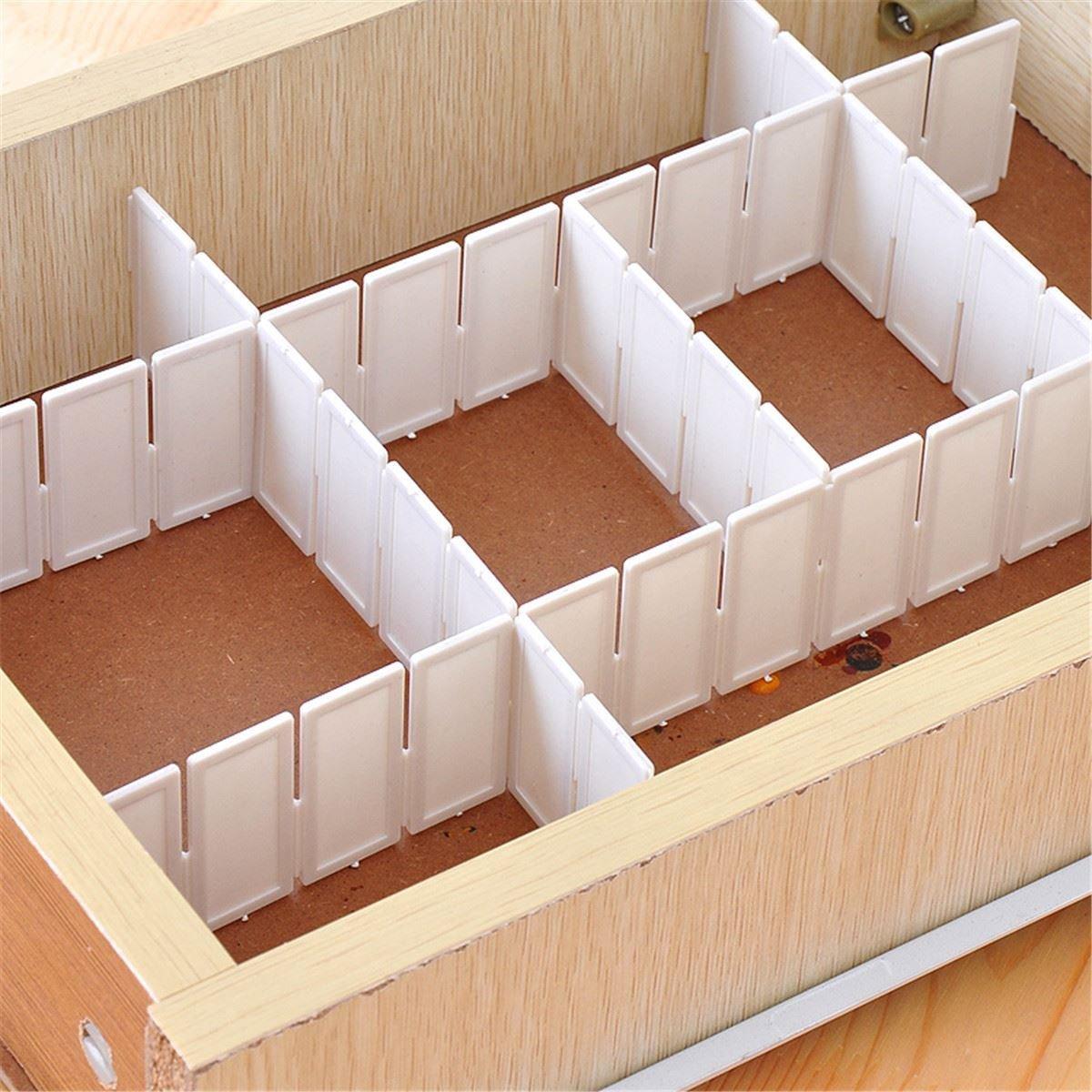 Caj/ón Tablilla Divisor Gabinete DIY del organizador del almacenaje