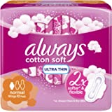 Always Cotton Soft Ultra Thin, Normal sanitary pads, 10 pads