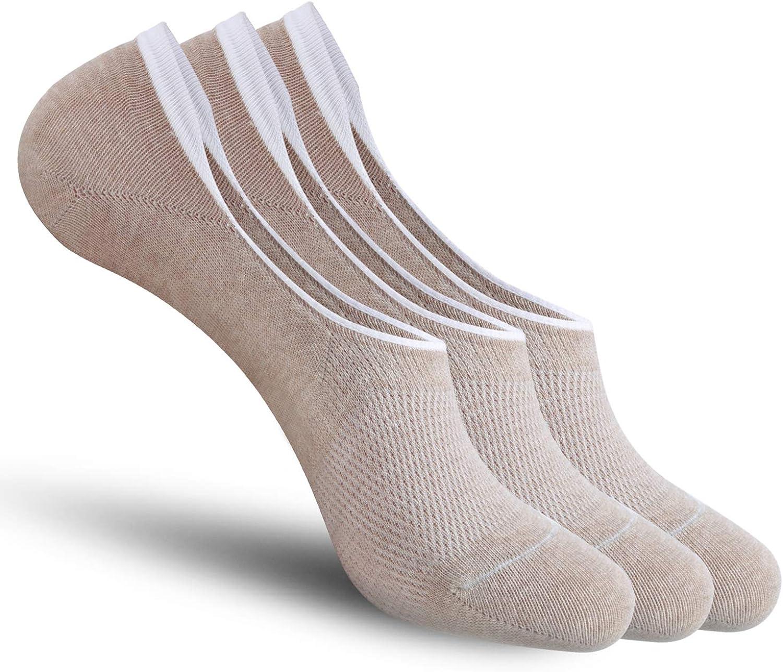 CozyWow Unisex Unsichtbare Socken Rutschfest von der Ferse Sneaker Socken set
