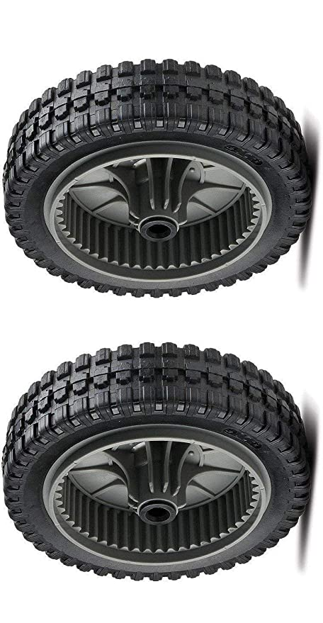 Amazon.com: Lawnmower partes 672441 672441MA (2) ruedas ...