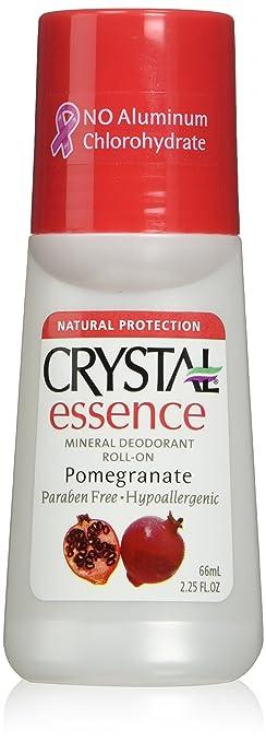 Crystal Deodorant Essence Roll -On Pomegranate 2.25 oz. (3-Pack)