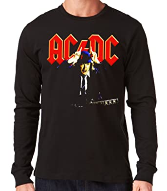 98667c206 35mm - Camiseta Hombre Manga Larga - ACDC - AC DC - Angus Young - Long  Sleeve Man Shirt  Amazon.es  Ropa y accesorios