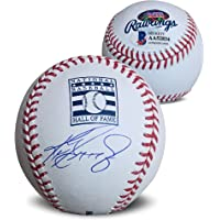 $449 » Ken Griffey Jr Autographed Hall of Fame Logo HOF Signed Baseball Beckett COA