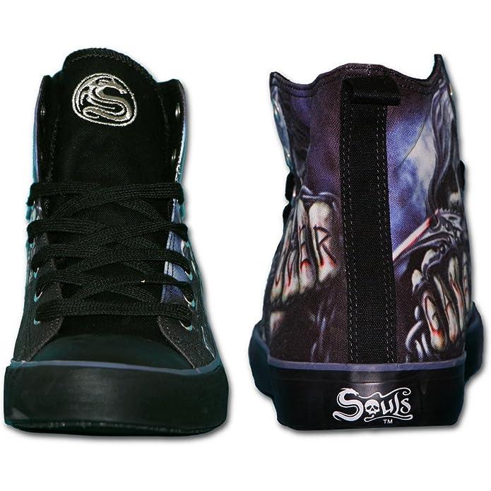 Spiral Direct Negro Zapatos de Cordones para Hombre Negro Direct Negro y Azul beed24
