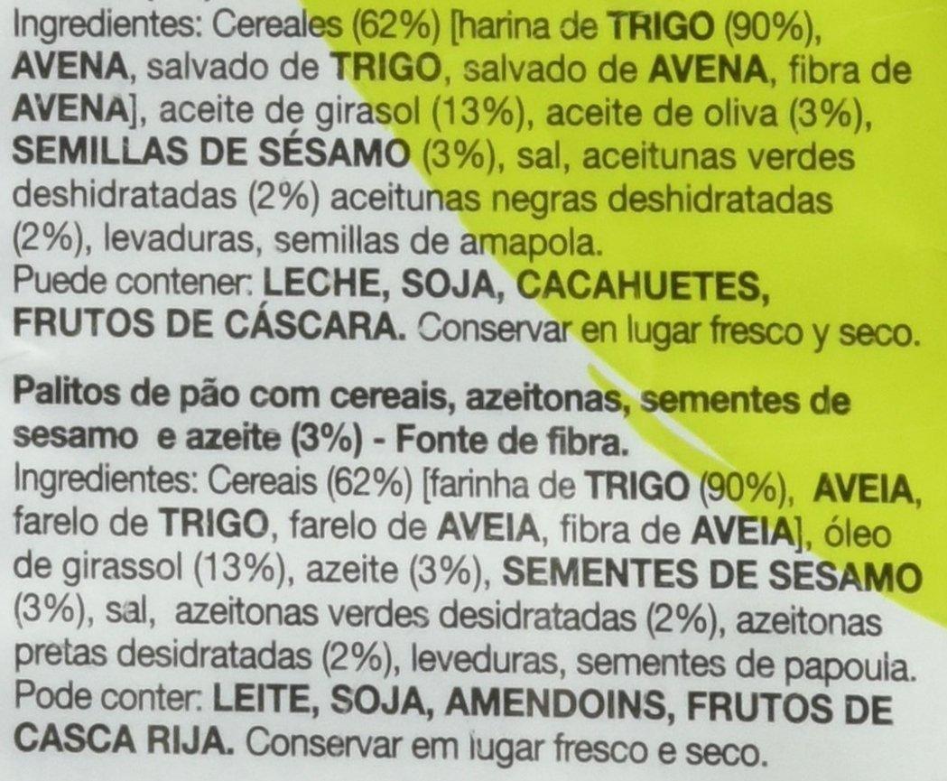 Snatts Palitos de Trigo con Olivas y Sésamo - 60 g: Amazon.es: Amazon Pantry