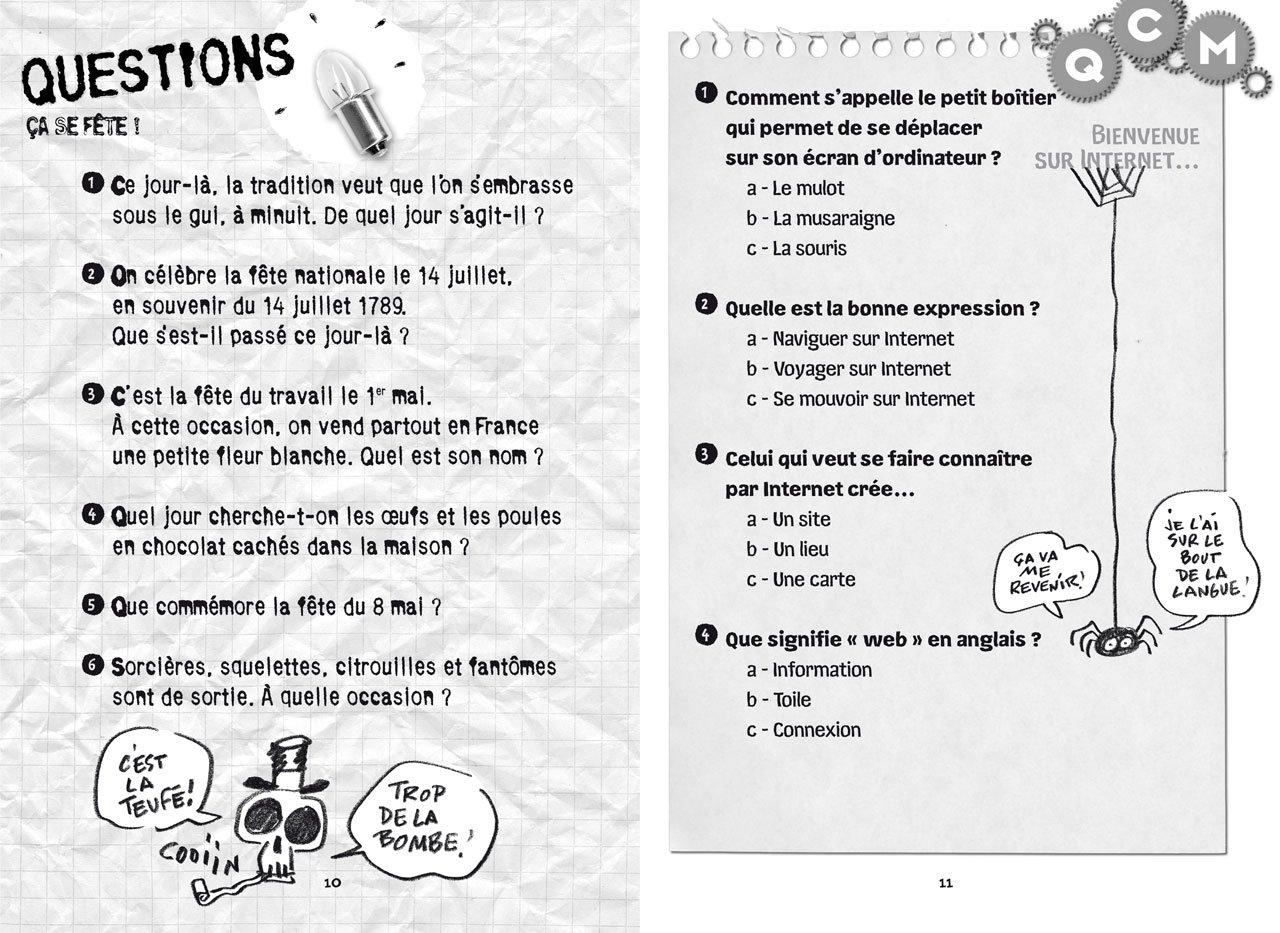 100 Questions Pour Les Petits Champions Des 7 Ans 9782244478746
