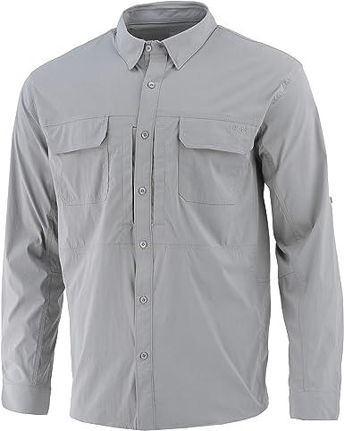 HUK Beaufort Camisa de Manga Larga para Hombre | Camisa de ...