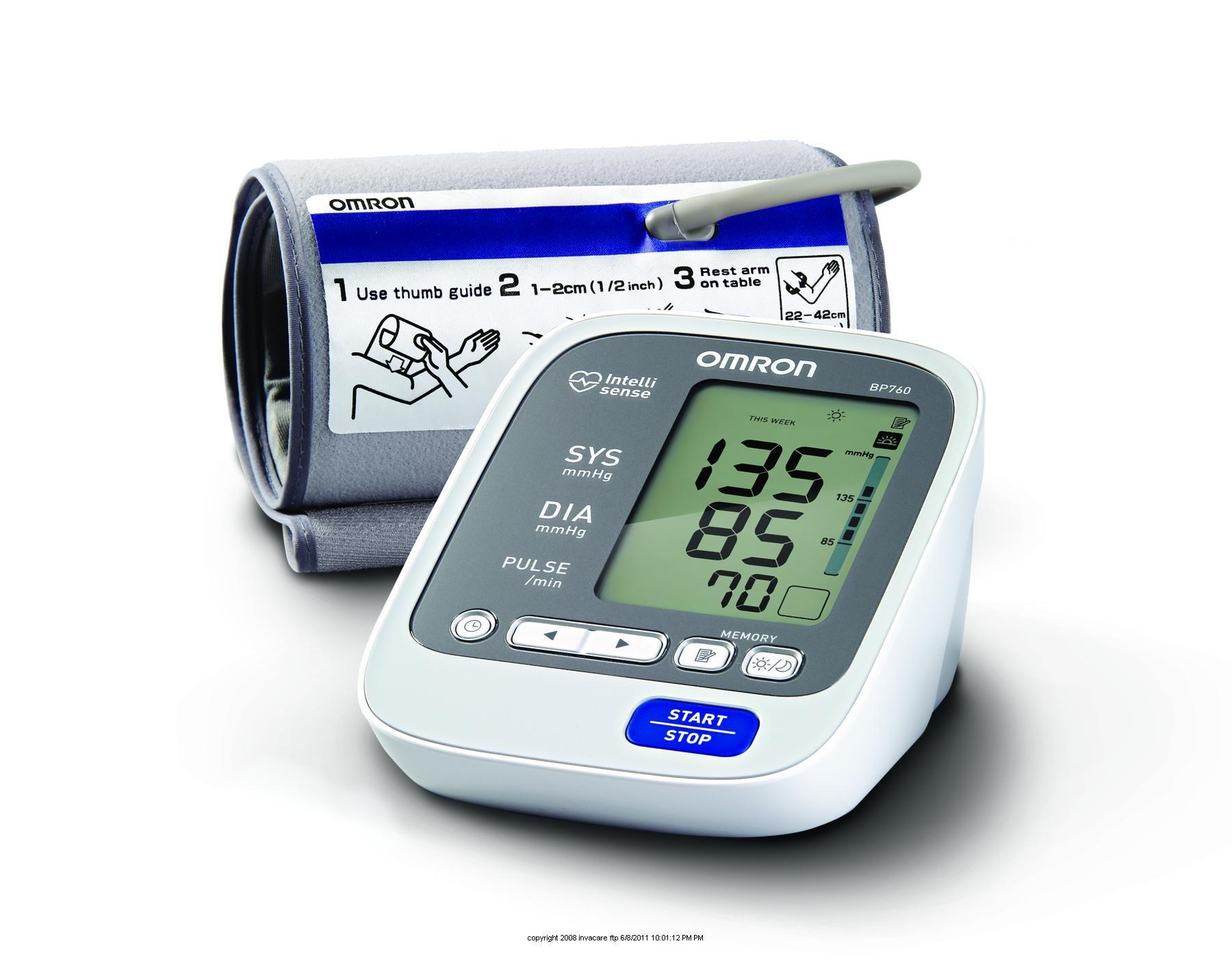 Omron 7 Series Upper Arm Blood Pressure Monitor, 7 Series Upper Arm Bp Monitor, (1 EACH, 1 EACH)