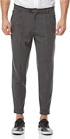 Casual Friday Slim Fit Trousers for Men - Grey