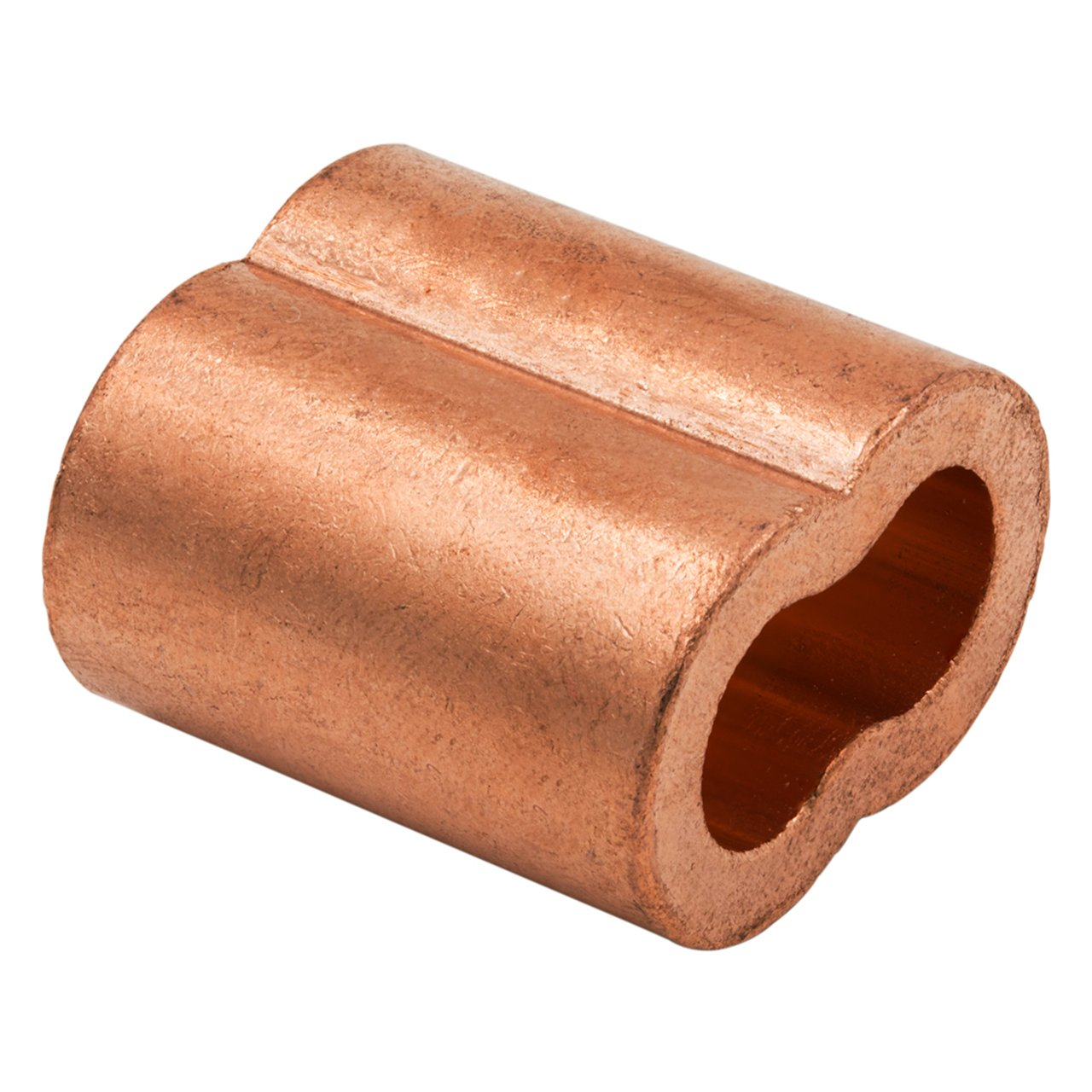 SwageRight Copper Swage Sleeves & Ferrules | Oval Duplex Crimping Loop Fittings (1/32 inch - 1/2 inch)