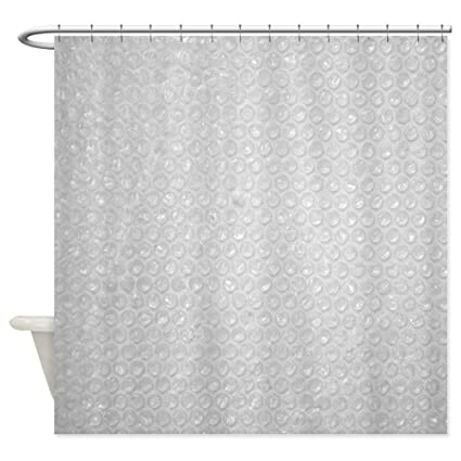 Amazon CafePress Bubble Wrap Small Shower Curtain Decorative