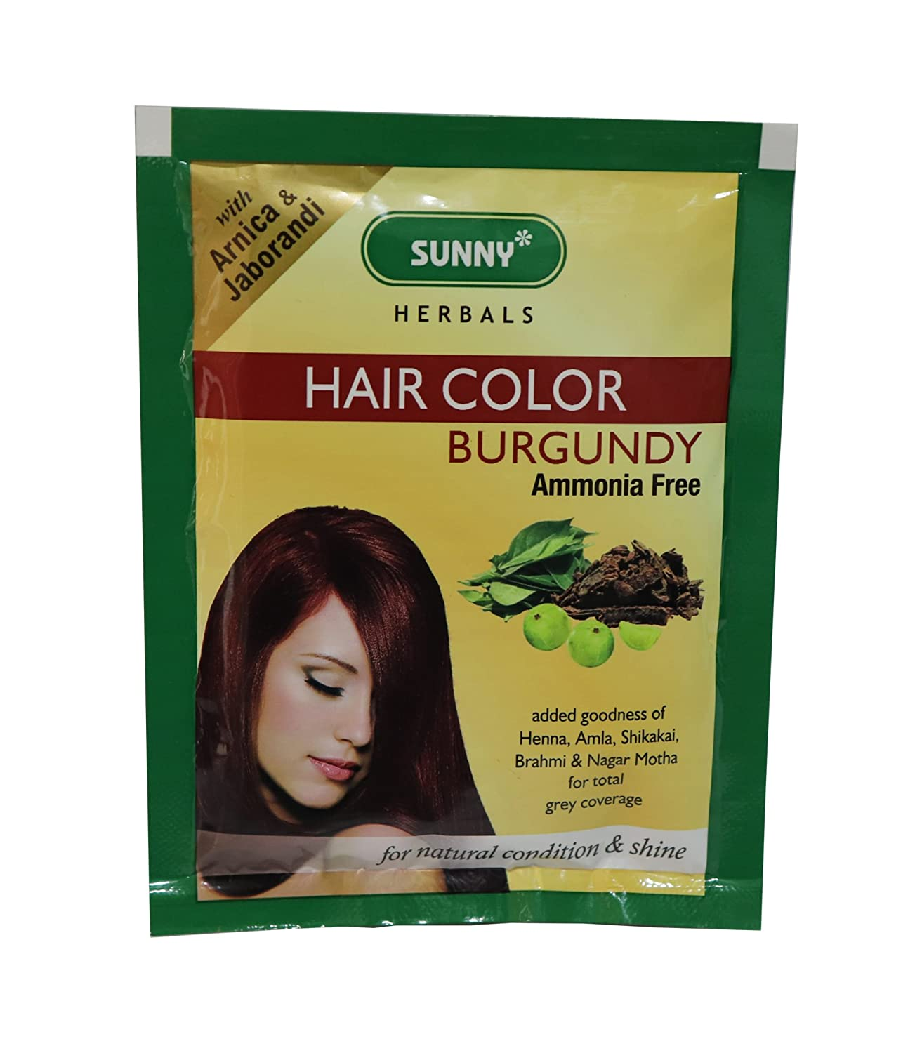 Bakson's Heena Powder Hair Dye Naturally Nourishing Hair Color Bakson' s