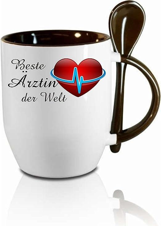 Tasse, Keramiktasse Beste Ärztin der Welt. | www