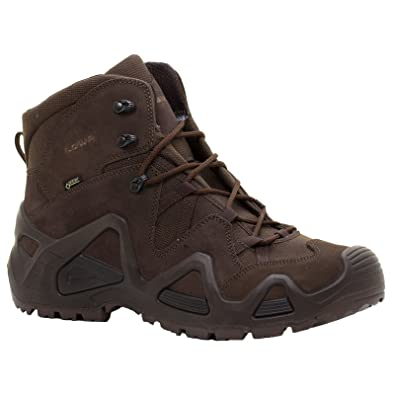 Amazon.com | Lowa Mens Zephyr Gore-TEX Mid Task Force Suede Boots | Hiking  Boots