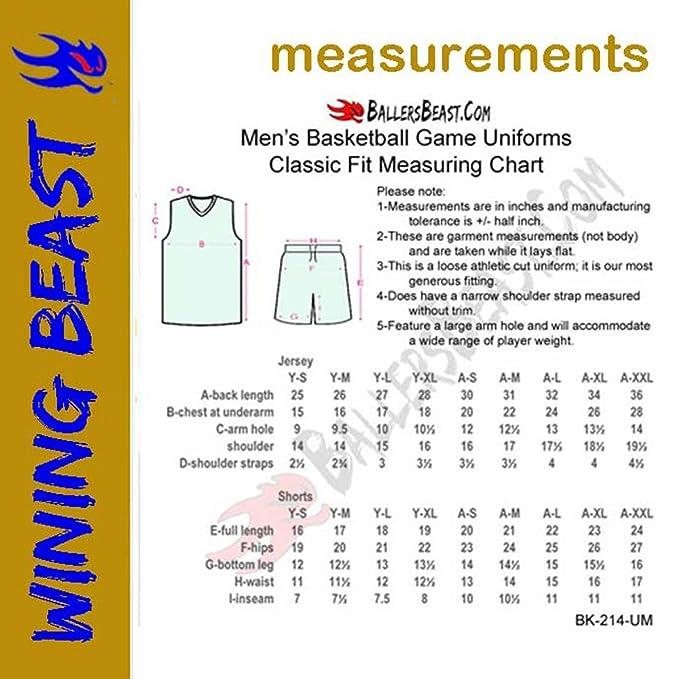 526b75b0477 Amazon.com  Lot of 20 Basketball Uniform Kits (Jersey-Shorts) WB514 Custom  Made for You  Clothing