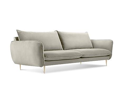 Cosmopolitan Design - Sofá de Terciopelo, diseño Floral, 4 ...
