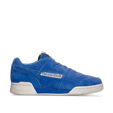 928280d4f51 Reebok Mens Classics Mens Workout Plus Vintage Trainers in Blue - UK ...