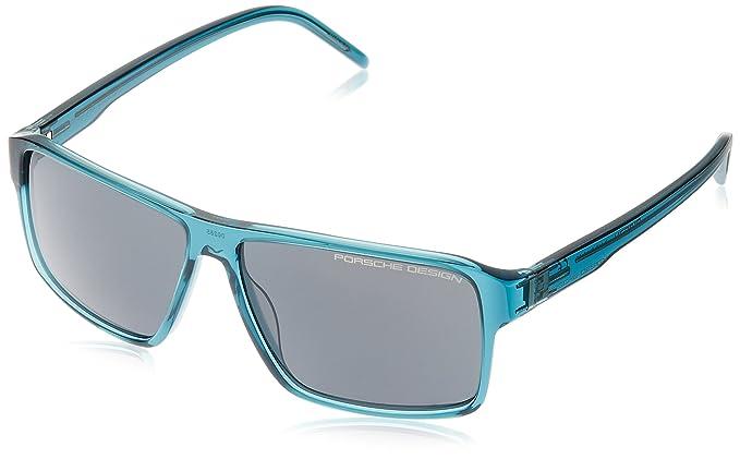 Porsche Design P8634-B Sonnenbrille in blue transparent 57/12 WNrPafR