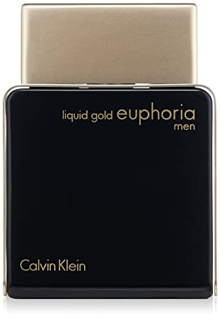 Amazoncom Calvin Klein Liquid Gold Euphoria For Men 34 Fl Oz