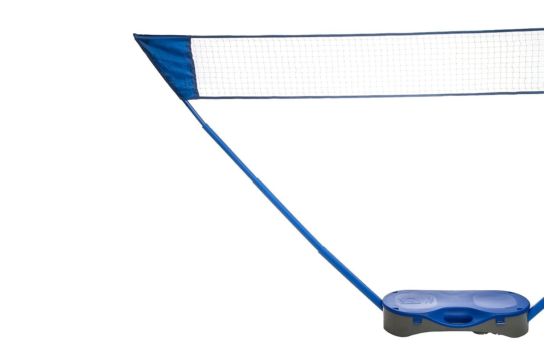 Atom Badminton Set inkl. Netz | 2x Schläger | 2x Federbälle | Transportkoffer | Badminton Federball | Federballspiel ATOM Sports