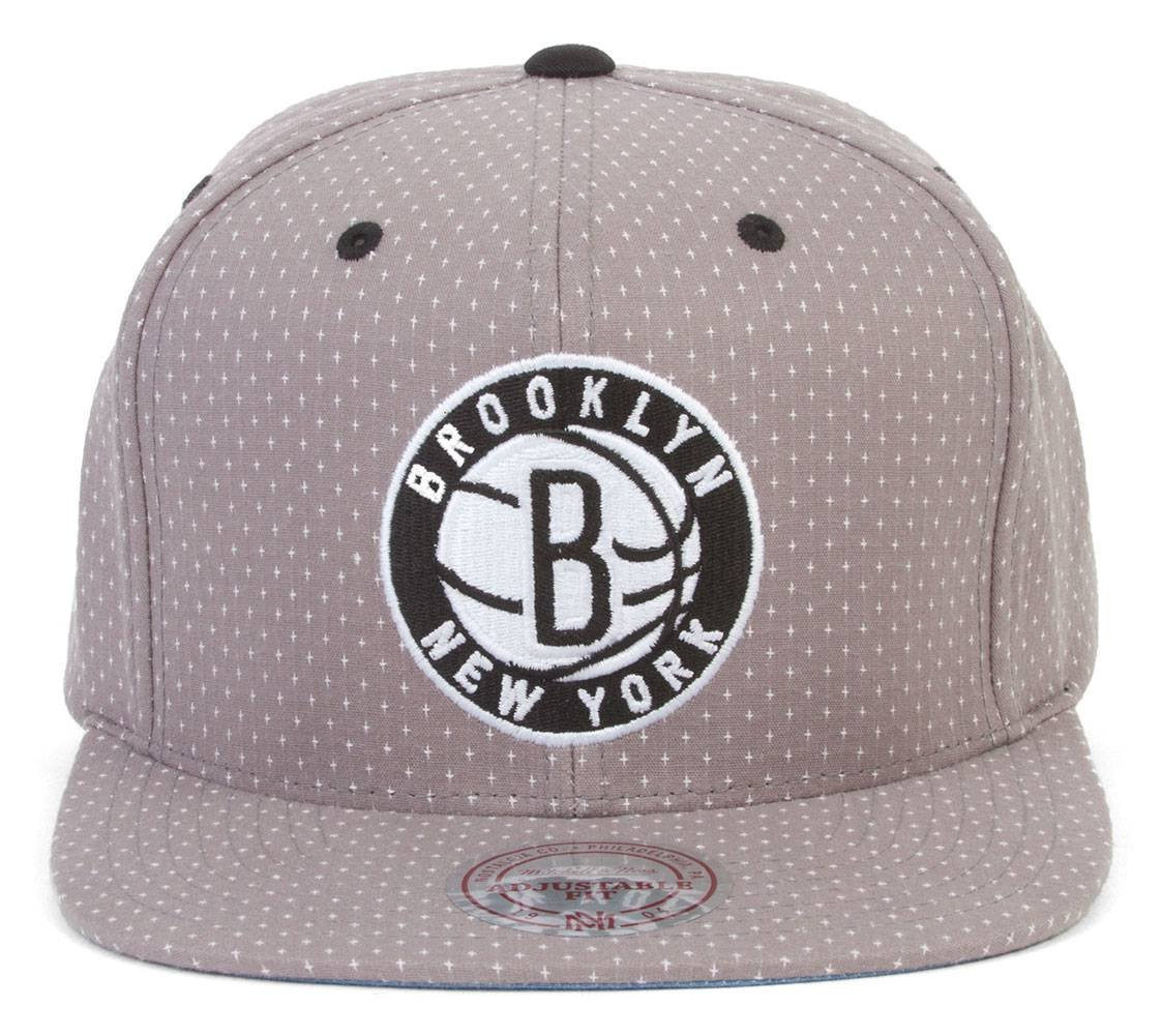 0a94bfae40ace Amazon.com   Mitchell And Ness Brooklyn Nets Snapback   Sports   Outdoors