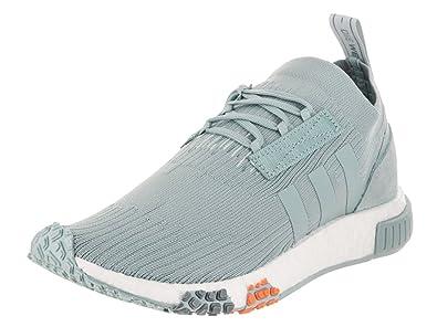 3c69dce30286d adidas Women s NMD-Racer Primeknit Running Shoe 6 Blue