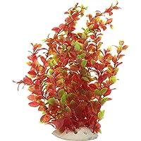 """Saim Aquarium Artificial Plastic Plants Decor Fish Tank Ornament 16"""" Height Assorted Color"""