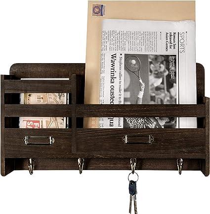 Amazon.com: Mkono Organizador para llaves de madera ...