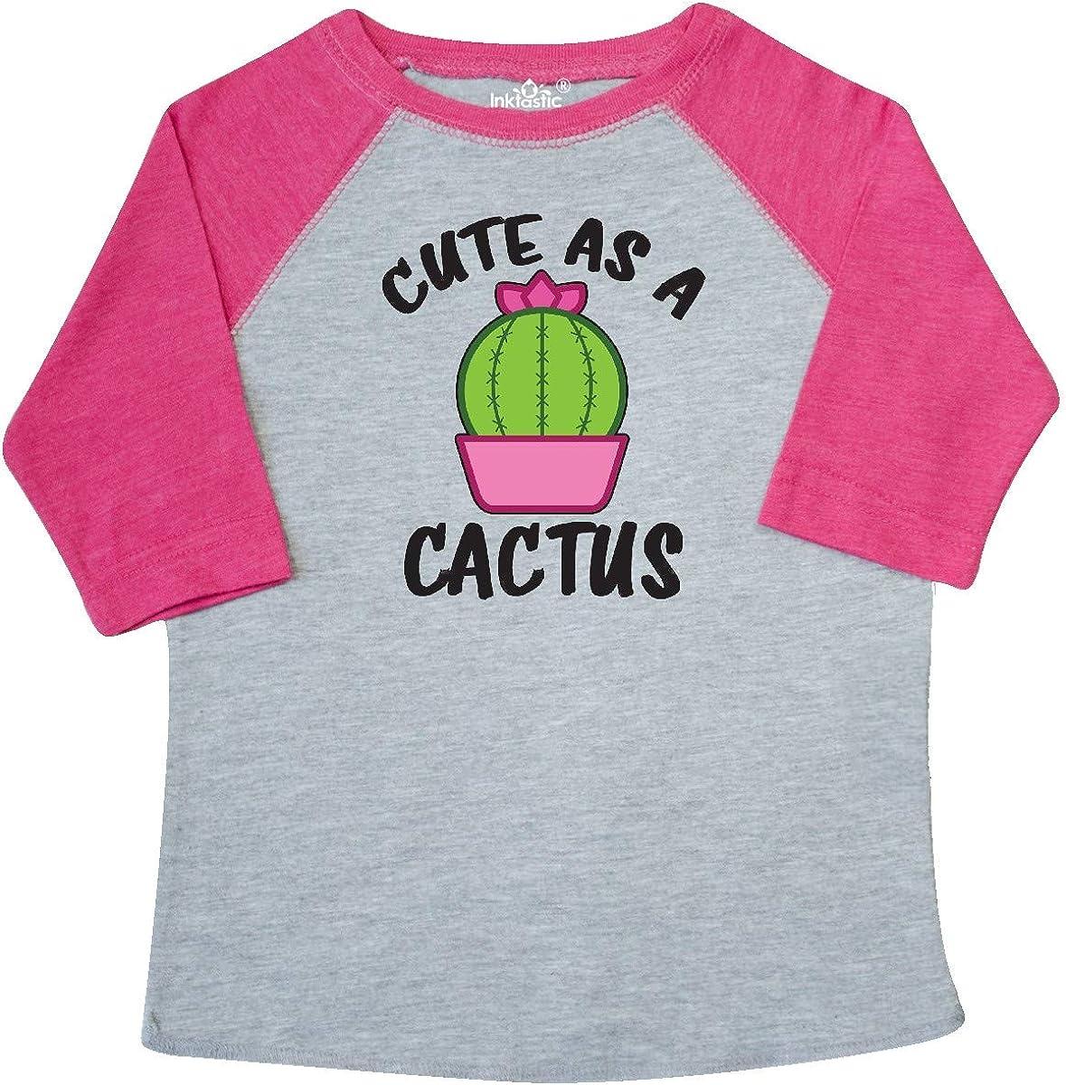 inktastic Cute As a Cactus Toddler T-Shirt