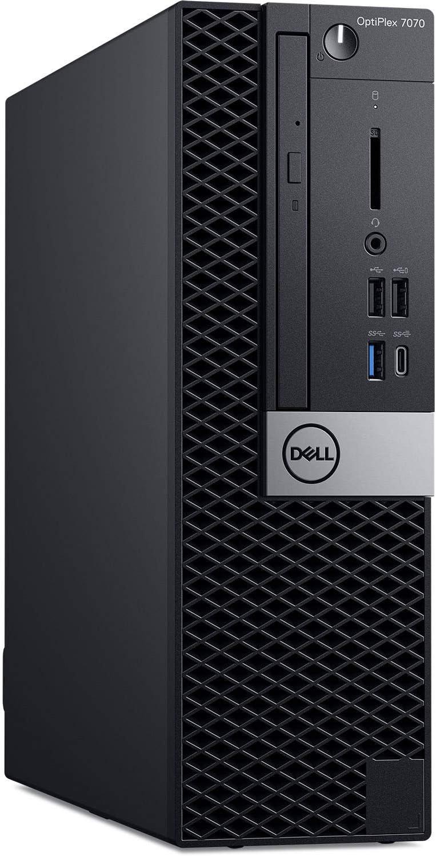 Dell OptiPlex 7070 SFF Business Desktop Computer_ Intel Octa-Core i7 9700 Up to 4.7GHz_ 32GB DDR4 RAM, 1TB PCIe SSD_ DVDRW_ 802.11AC WiFi_ Bluetooth 4.2_ Displayport_ Type-C_ VGA_ HDMI_ Windows 10 Pro
