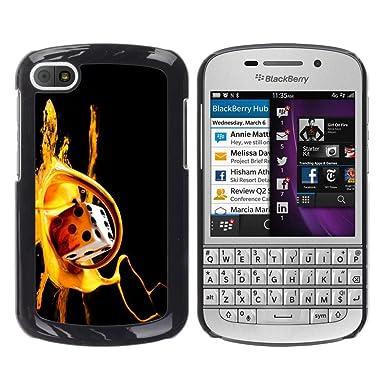 Carcasa de plástico funda | | BlackBerry Q10 | | Dados juego ...