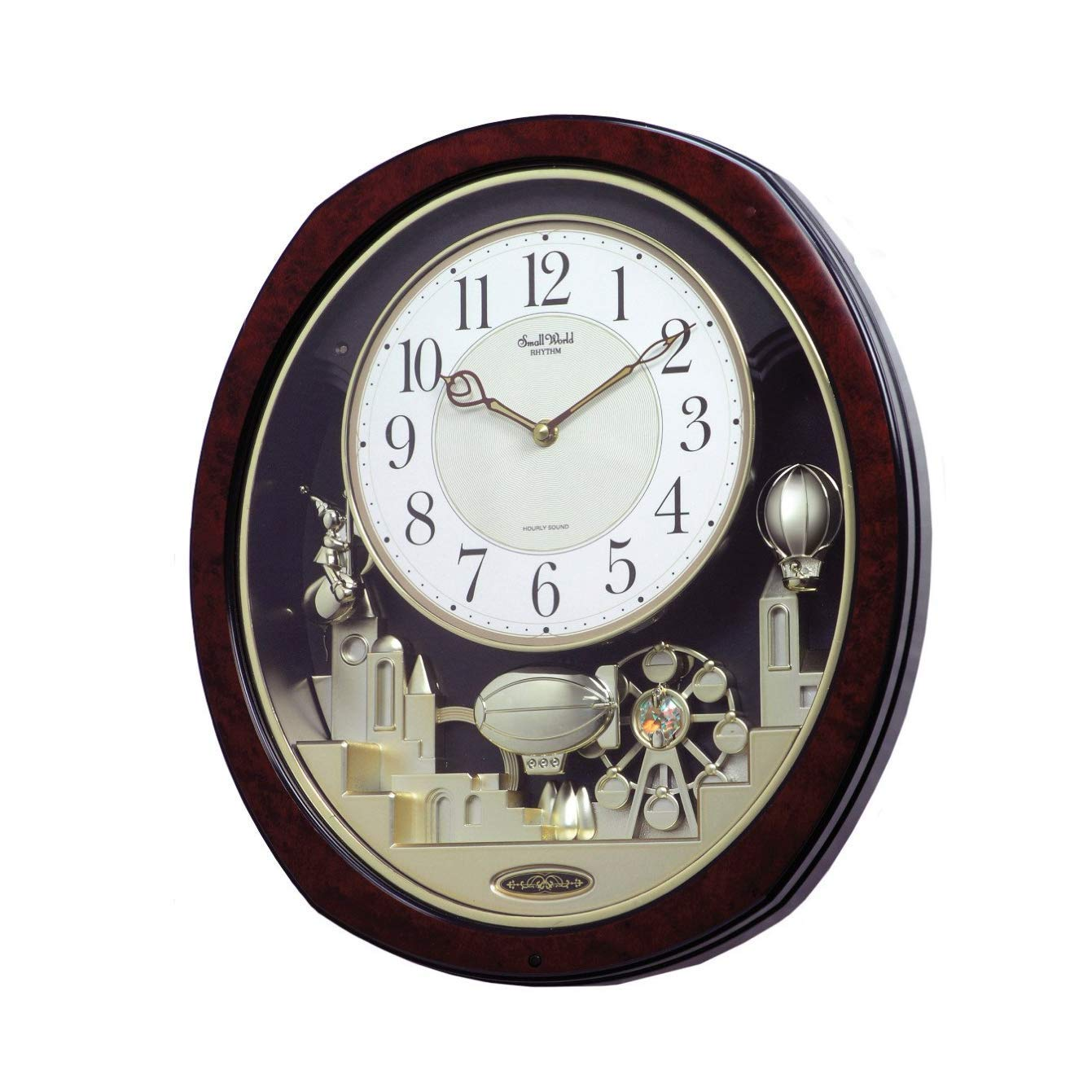 Rhythm Clocks Joyful Land Musical Motion Clock